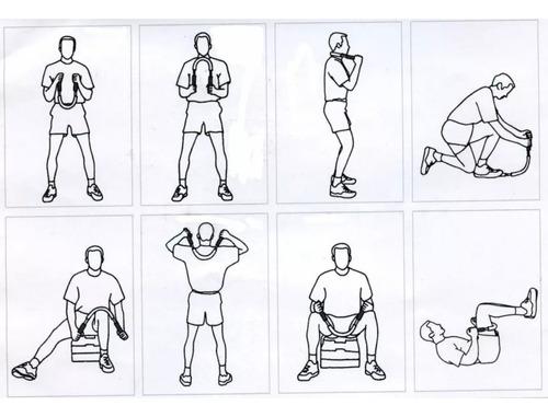 barra  hand grip antebrazo 50kg gym  torsión