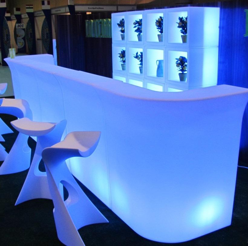 Barra iluminada para eventos importada led rgb modulo - Barras de bar iluminadas ...