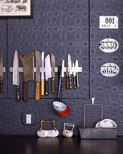 barra imantada o magnética para cuchillos o herramientas*td*