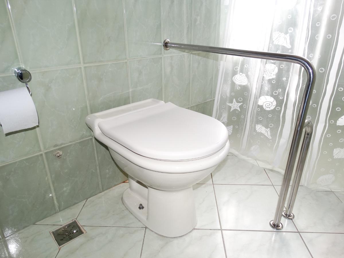 Barra Inox,apoio,lateral Vaso,acessibilidade,banheiro,idoso  R$ 229,99 em Me -> Banheiros Simples Para Idosos