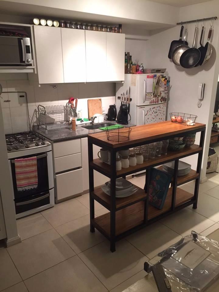 Barra Isla Cocina Diseño Industrial - $ 11.200,00 en Mercado Libre
