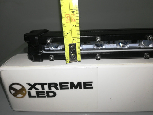 barra led 18 ultra delgada 20 leds  extreme carro pequeño