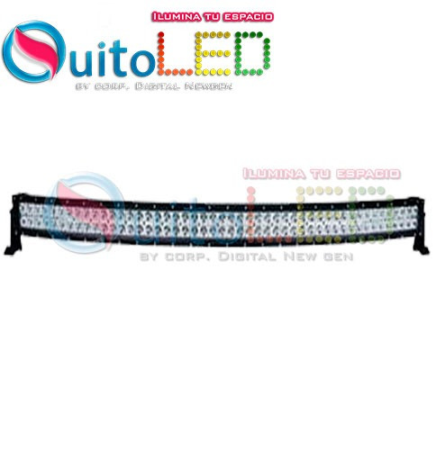 barra led 54cm 120w - 4x4 - exploradora led 120w - quitoled