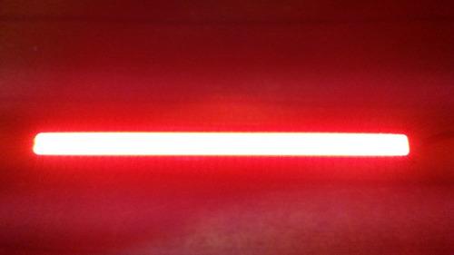 barra led cob premium color rojo de alto brillo x unidad