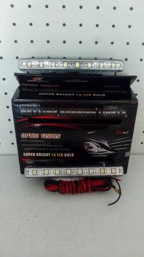 barra led faro luces circulacion f1 racing