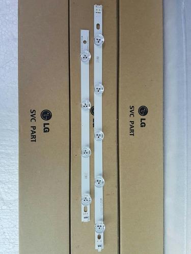barra led lg 39ln5700 39ln5400 39la6200 (par - linha 9 leds)