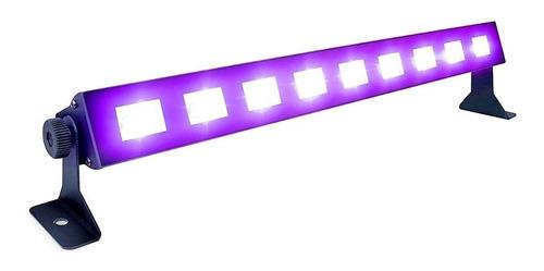 barra led luz uv negra 43cm 9x3w luz ultravioleta fluor fc