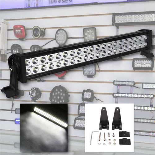 barra led neblinero de 120w - 54cm - 4x4  - todoenled.ec