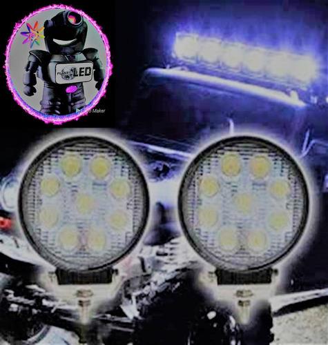 barra led neblinero faro 27w auto camioneta moto jeep 4x4