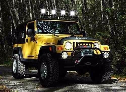 barra led neblinero faro 27w  jeep 4x4 -  quitoled