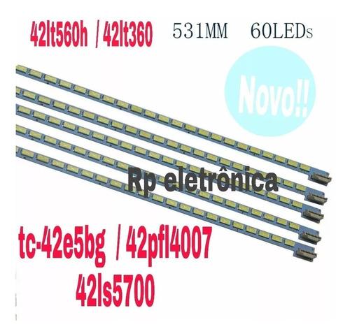barra led nova 42ls5700 42lm6200 -42ls4600 42e5bg -42pfl4007