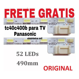 Barra Led Nova Da Tv Panasonic Tc 40c 400b C/fita Termica