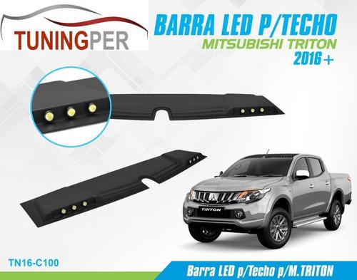barra led para techo mitsubishi triton 2016-on