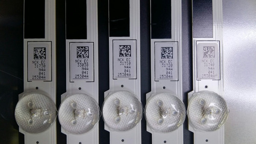 barra led samsung un40f5500ag un40f6400ag un40f5200ag par