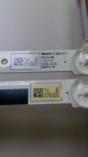 barra led samsung un46f5500 un46f6100 un46f5200 un46f6400ag