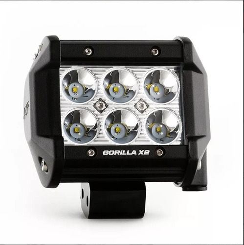 barra led skp gorilla x2 18w -10cm/4in skp ambulancia rzr-op