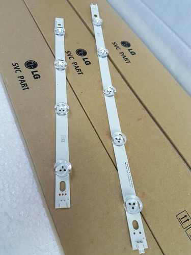 barra led tv lg 39ln5700 39ln5400 - 2 barras linha c/9 leds