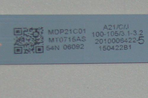 barra led tv philips 32phg4900/78_com 7leds  *lhd