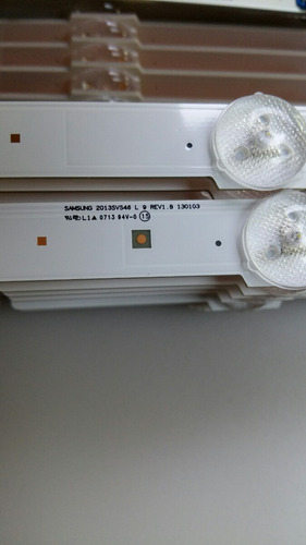 barra led tv samsung un46f5500ag un46f6400ag un46f6100ag