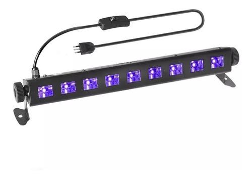 barra led uv 9x3w para efectos de luz 05092 / fernapet