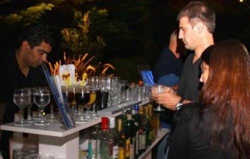 barra libre , catering de tragos shots  servicio de bebidas