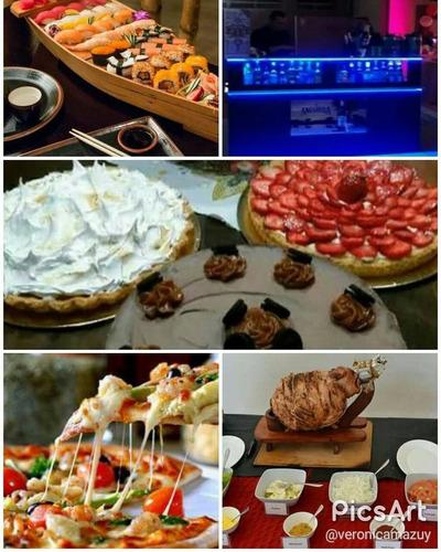barra libre - catering - pizza libre - asado