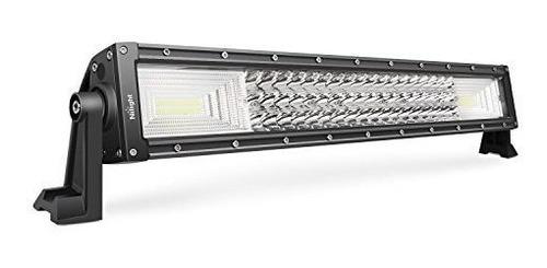 barra ligera llevada nilight 22inch 270w de triple fila inu
