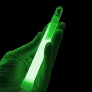 barra luminosa cyalume neon glow 15cm 6-8 hrs de luz intensa