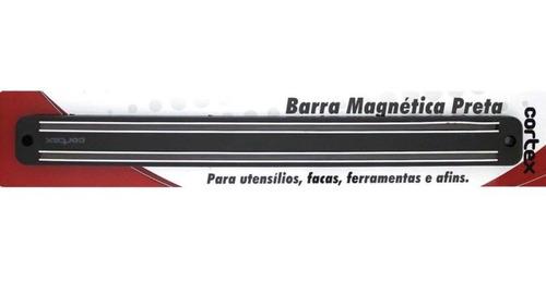 barra magnética preta 49cm. cortex - gedex