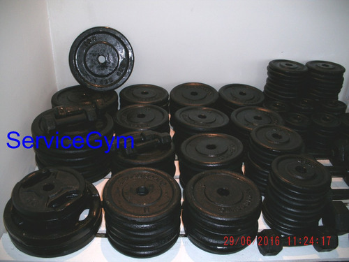 barra mancuern disco pesas