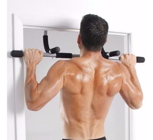 barra marco puerta abdominales multifuncion dominadas tricep