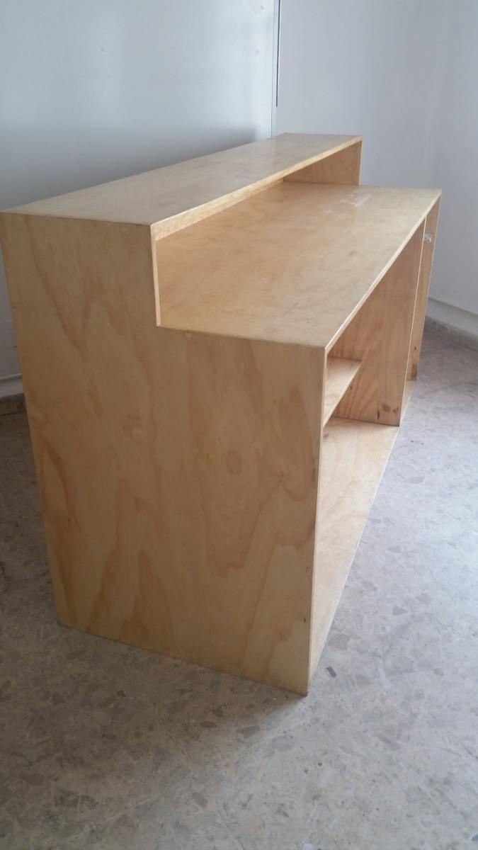 Barra mostrador de madera 4 en mercado libre - Mostrador de palets ...
