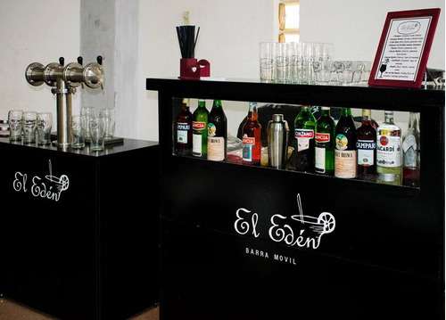 barra movil de tragos y cocktails -  eventos chopera cerveza