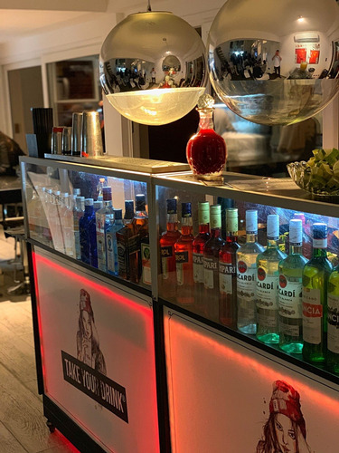 barra movil - eventos - tragos barra - take your drink