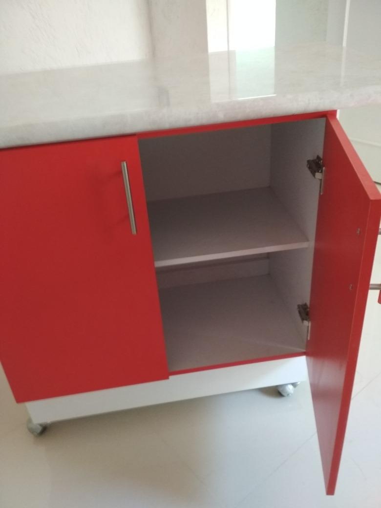 Barra Desayunador Isla Con Mueble Para Cocina - $ 3,500.00 en ...
