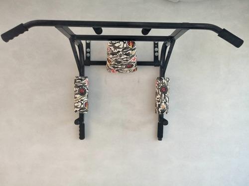 barra multifuncional acolchonada para calistenia y crossfit