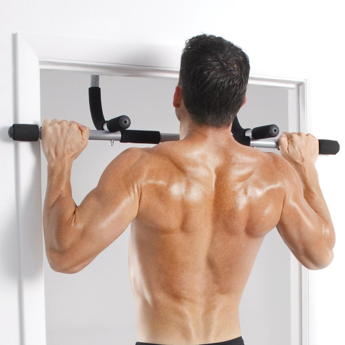 Barra Multifuncional Biceps Triceps Pectorales Iron Gym - S/ 49,99 ...