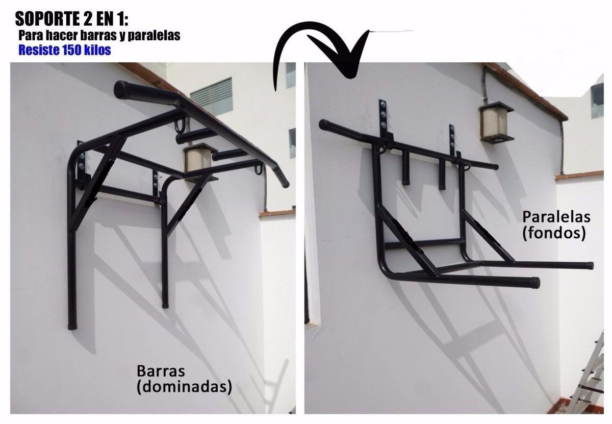 Barra multifuncional ejercicios calistenia s 150 00 en mercado libre - Barras de ejercicio para casa ...