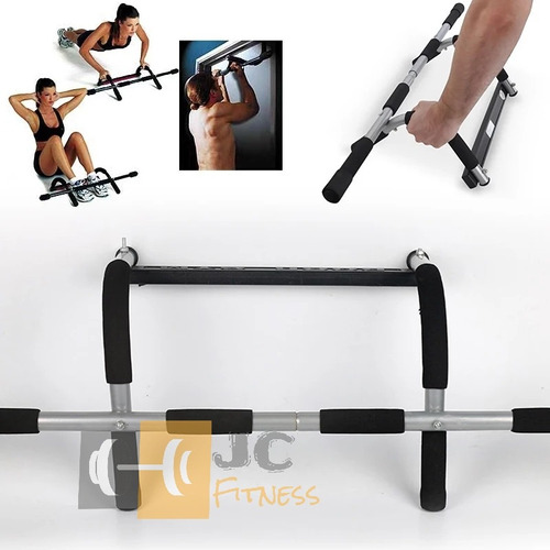 barra multifuncional- iron gym- bicep, tricep, pectorales