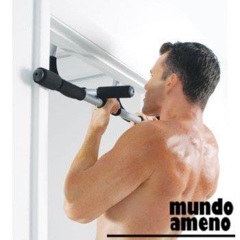 barra multifuncional para puertas con 2 mangas ab straps
