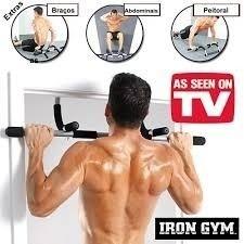 Barra Multifuncional Tipo Tron Gym Trabaja Biceps 27e1f107aab
