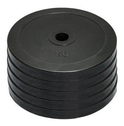 barra olímpica 20 kg + 100 kg discos engomados er - sdmed