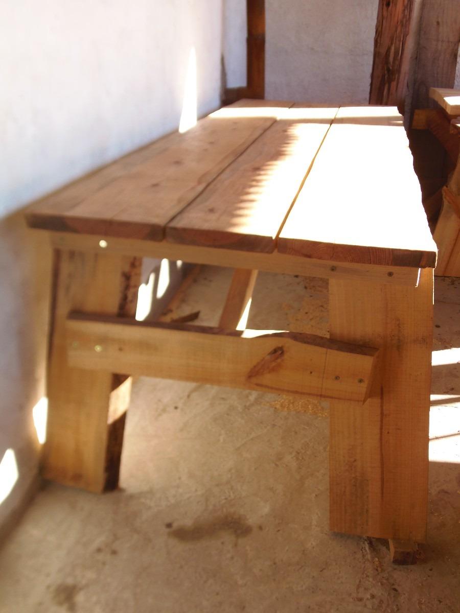 Barra para cocina o parrillero 1200 mesas de madera for Precios de mesas de cocina