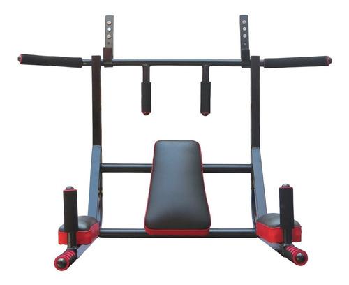 barra para dominadas 6 en 1 calistenia ejercicios paralelas