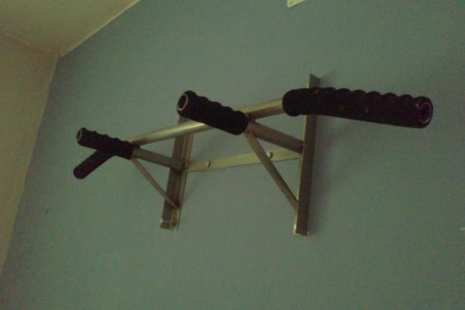 Barra para dominadas incluye pernos y tarugos s 80 00 - Barra dominadas pared ...