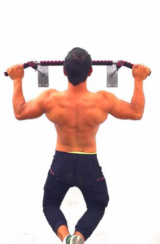 barra para dominadas chin ups para montar en pared
