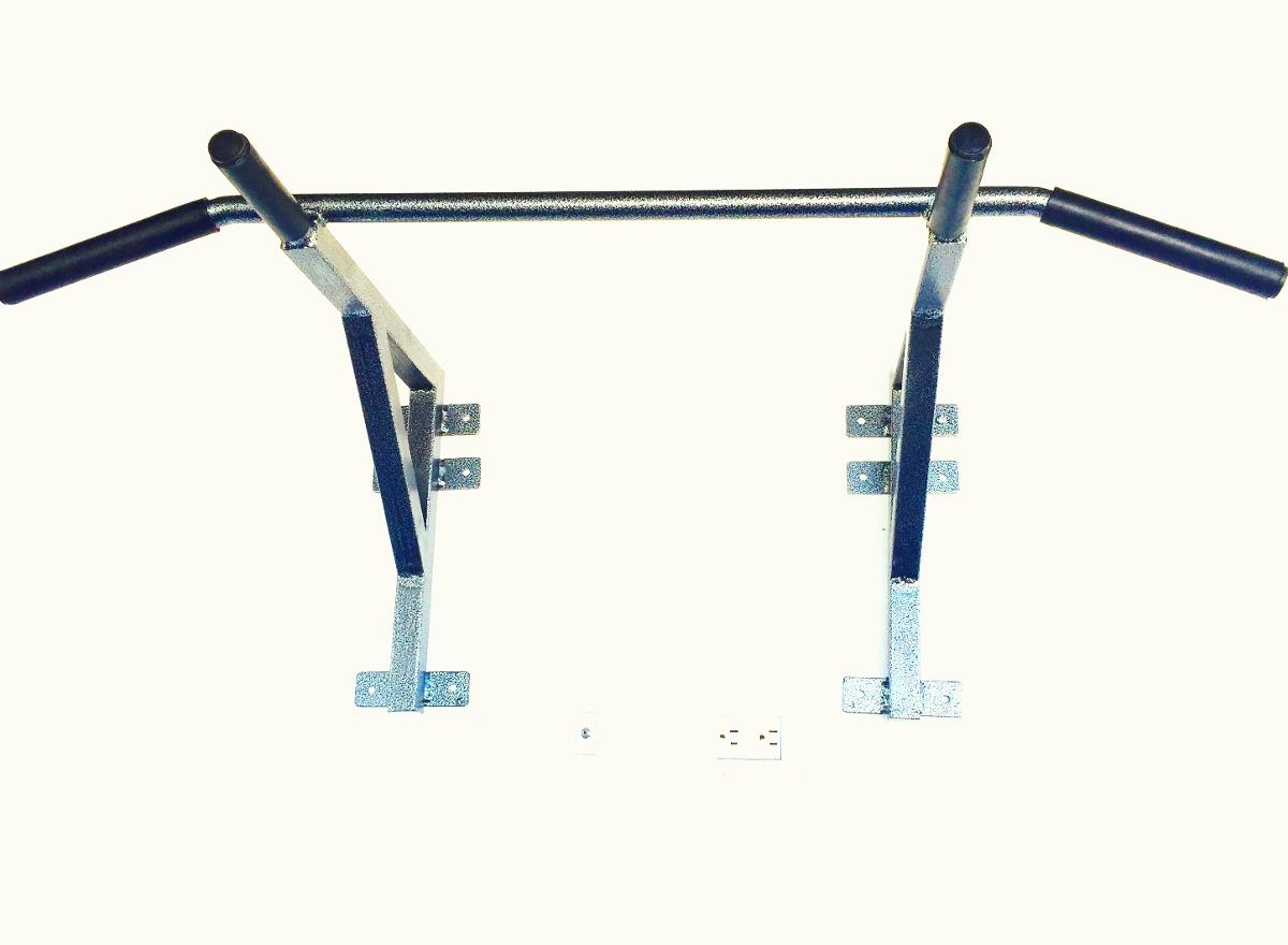 Barra para dominadas de espalda bicep uso rudo gym 899 for Aparatos de gimnasio usados
