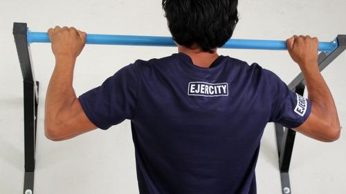 barra para dominadas, pull ups, ejercicio,muscle up de pared