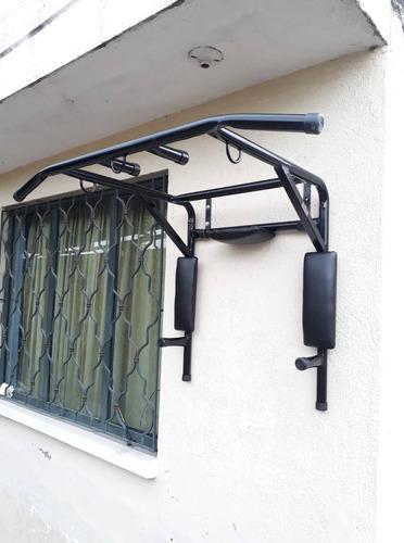 barra para ejercicio multifuncional gym (dominadas, fondos)