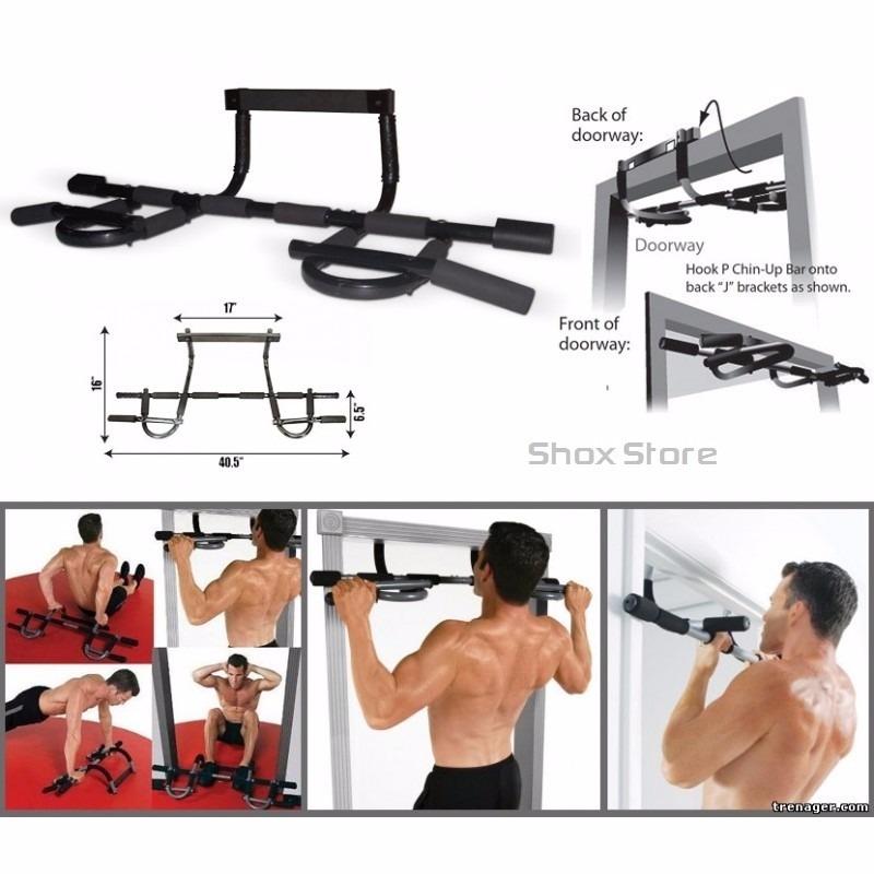 Barra Para Marco De Puerta Iron Gym Abdominales Gimnasio Tv - $ 499 ...